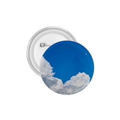 Sky Clouds Blue White Weather Air 1.75  Buttons