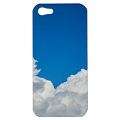 Sky Clouds Blue White Weather Air Apple iPhone 5 Hardshell Case