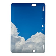 Sky Clouds Blue White Weather Air Kindle Fire HDX 8.9  Hardshell Case