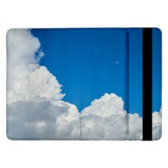 Sky Clouds Blue White Weather Air Samsung Galaxy Tab Pro 12.2  Flip Case