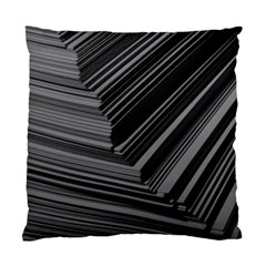 Paper Low Key A4 Studio Lines Standard Cushion Case (Two Sides)