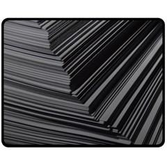 Paper Low Key A4 Studio Lines Fleece Blanket (Medium)
