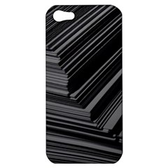 Paper Low Key A4 Studio Lines Apple iPhone 5 Hardshell Case