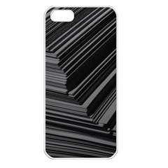 Paper Low Key A4 Studio Lines Apple iPhone 5 Seamless Case (White)
