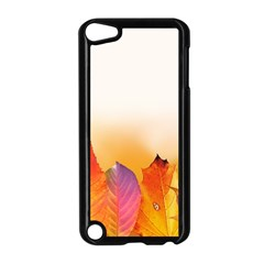 Autumn Leaves Colorful Fall Foliage Apple iPod Touch 5 Case (Black)