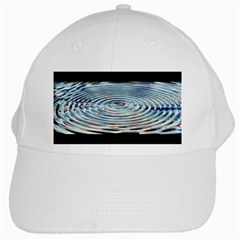 Wave Concentric Waves Circles Water White Cap