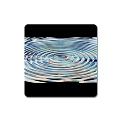 Wave Concentric Waves Circles Water Square Magnet