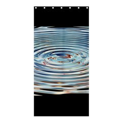 Wave Concentric Waves Circles Water Shower Curtain 36  x 72  (Stall)