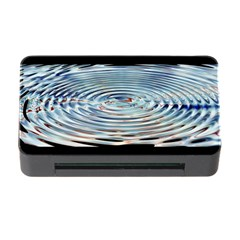 Wave Concentric Waves Circles Water Memory Card Reader with CF