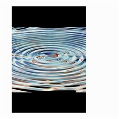 Wave Concentric Waves Circles Water Small Garden Flag (Two Sides)