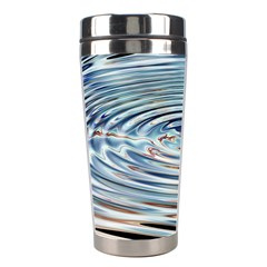 Wave Concentric Waves Circles Water Stainless Steel Travel Tumblers