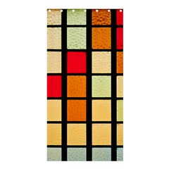 Mozaico Colors Glass Church Color Shower Curtain 36  x 72  (Stall)