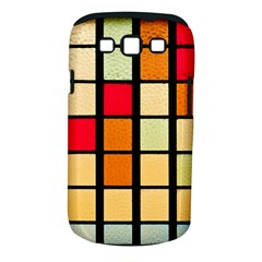 Mozaico Colors Glass Church Color Samsung Galaxy S III Classic Hardshell Case (PC+Silicone)