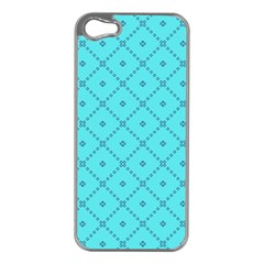 Pattern Background Texture Apple iPhone 5 Case (Silver)