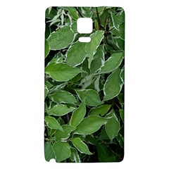 Texture Leaves Light Sun Green Galaxy Note 4 Back Case