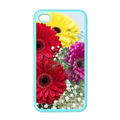 Flowers Gerbera Floral Spring Apple iPhone 4 Case (Color)