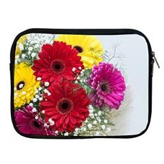 Flowers Gerbera Floral Spring Apple iPad 2/3/4 Zipper Cases
