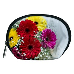 Flowers Gerbera Floral Spring Accessory Pouches (Medium)
