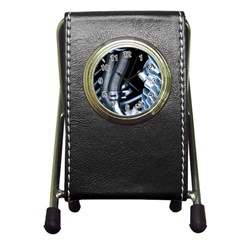 Motorcycle Details Pen Holder Desk Clocks