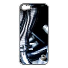 Motorcycle Details Apple iPhone 5 Case (Silver)