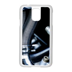 Motorcycle Details Samsung Galaxy S5 Case (White)