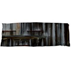 Alpine Hut Almhof Old Wood Grain Body Pillow Case (Dakimakura)