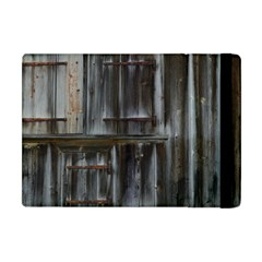 Alpine Hut Almhof Old Wood Grain Apple iPad Mini Flip Case