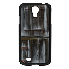 Alpine Hut Almhof Old Wood Grain Samsung Galaxy S4 I9500/ I9505 Case (Black)