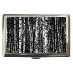 Birch Forest Trees Wood Natural Cigarette Money Cases