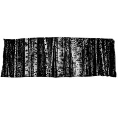 Birch Forest Trees Wood Natural Body Pillow Case Dakimakura (Two Sides)