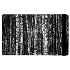 Birch Forest Trees Wood Natural Apple iPad 2 Flip Case