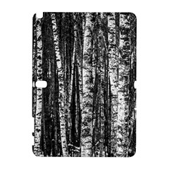 Birch Forest Trees Wood Natural Galaxy Note 1