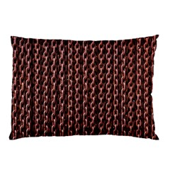 Chain Rusty Links Iron Metal Rust Pillow Case (Two Sides)