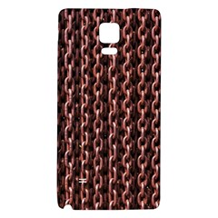 Chain Rusty Links Iron Metal Rust Galaxy Note 4 Back Case