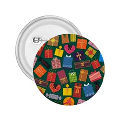 Presents Gifts Background Colorful 2.25  Buttons