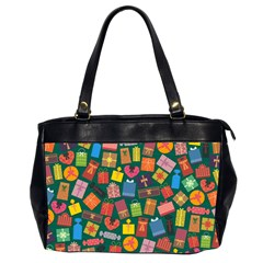 Presents Gifts Background Colorful Office Handbags (2 Sides)