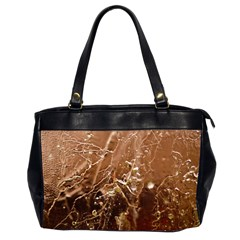 Ice Iced Structure Frozen Frost Office Handbags (2 Sides)
