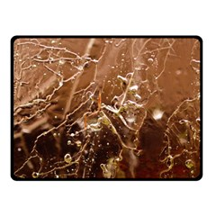Ice Iced Structure Frozen Frost Fleece Blanket (Small)