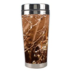 Ice Iced Structure Frozen Frost Stainless Steel Travel Tumblers
