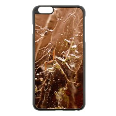 Ice Iced Structure Frozen Frost Apple iPhone 6 Plus/6S Plus Black Enamel Case