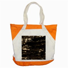 Lake Water Wave Mirroring Texture Accent Tote Bag