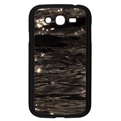 Lake Water Wave Mirroring Texture Samsung Galaxy Grand DUOS I9082 Case (Black)
