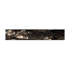 Lake Water Wave Mirroring Texture Flano Scarf (Mini)