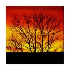 Sunset Abendstimmung Face Towel