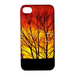 Sunset Abendstimmung Apple iPhone 4/4S Hardshell Case with Stand