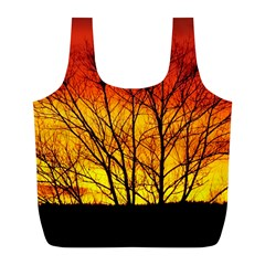 Sunset Abendstimmung Full Print Recycle Bags (L)