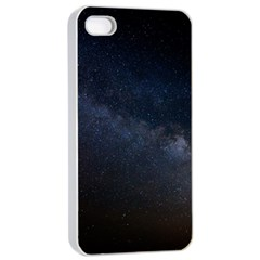 Cosmos Dark Hd Wallpaper Milky Way Apple iPhone 4/4s Seamless Case (White)