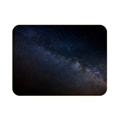 Cosmos Dark Hd Wallpaper Milky Way Double Sided Flano Blanket (Mini)