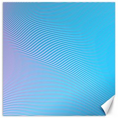 Background Graphics Lines Wave Canvas 20  x 20