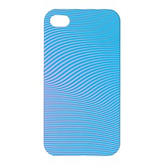 Background Graphics Lines Wave Apple iPhone 4/4S Hardshell Case